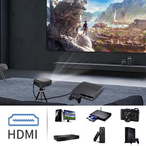 DLP Projector HDMI port