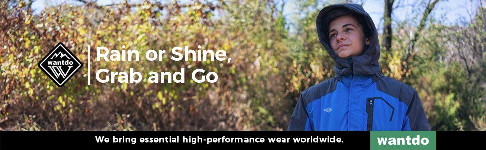 Wantdo Waterproof and Windproof Ski Parka Jacket