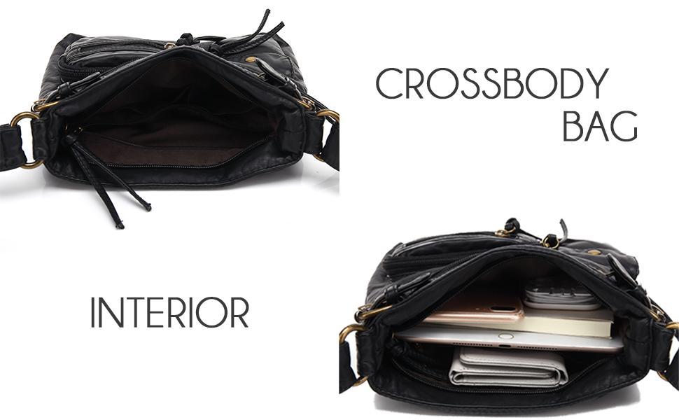 Scarleton Crossbody Bag Interior