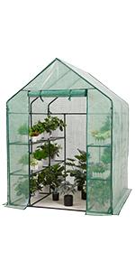 Greenhouse 77x56x56 PE