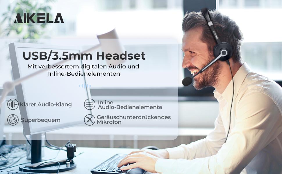 PC headset