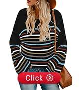 womens striped jumper