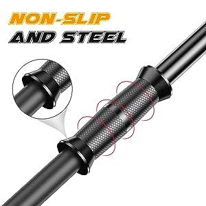 Non-slip comfortable handle