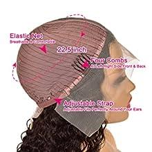 T part lace front wig cap