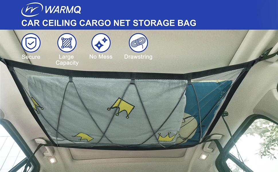ceiling net for car
