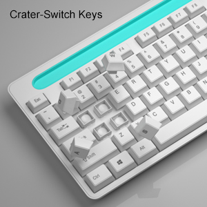 Low-Volume Keys and Comfortable Typing