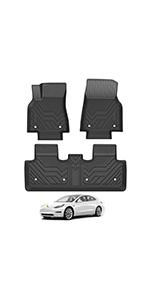 Floor Mats for 20-22 Tesla Model Y