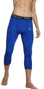 mens 3/4 compression tights