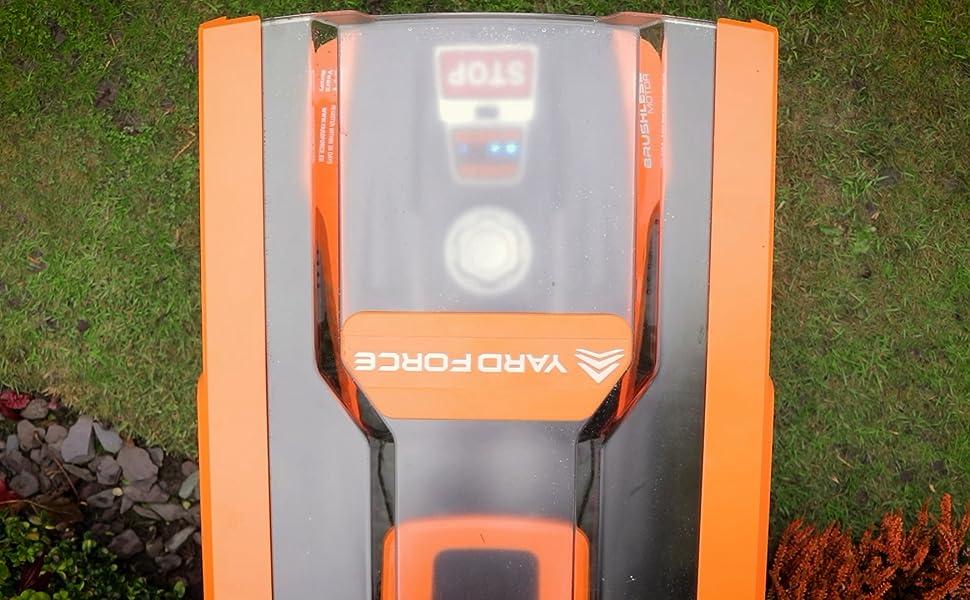 Yard Force Garaje es adecuado para todos los modelos Robotic, EasyMow, Classic, LUV, X, SA y NX.