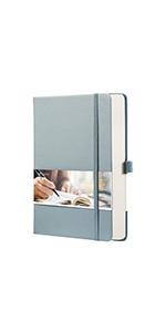 EMSHOI A5 Dots Spiral Journal Notebook