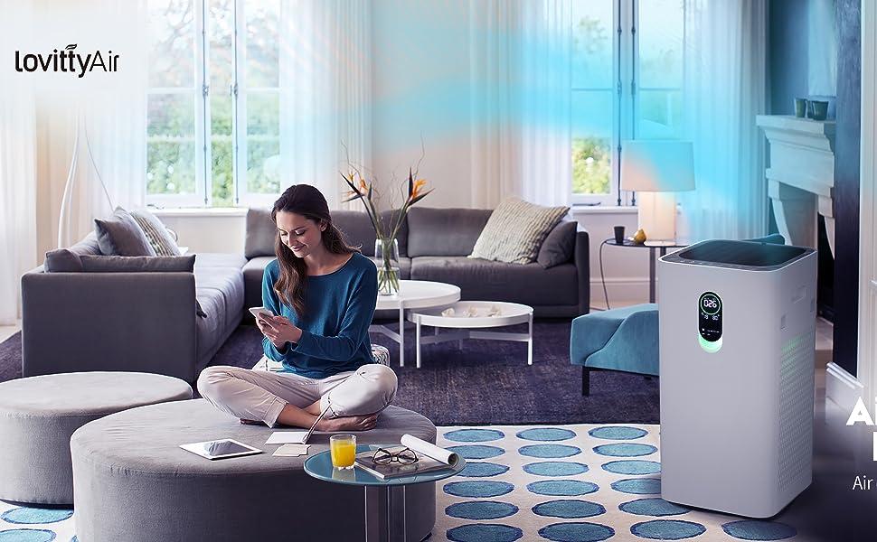 lovittyAir Air Purifier CADR800 for home large room