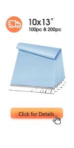 Metronic Poly Mailers 10x13