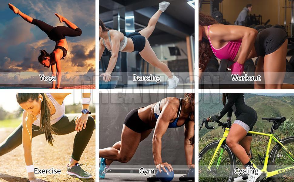 Yoga Biker Shorts for Women
