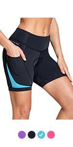 paaded Bike Shorts