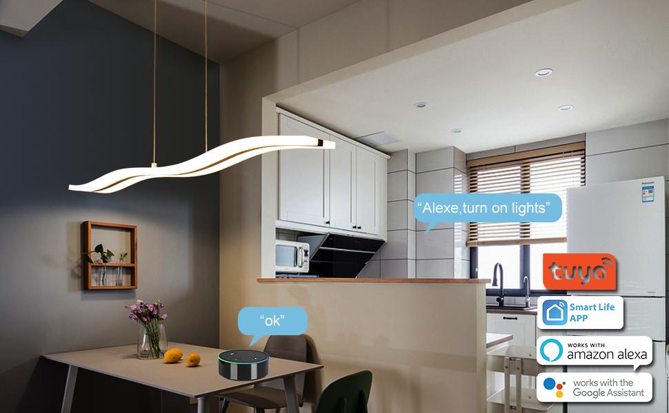 smart lumière suspend