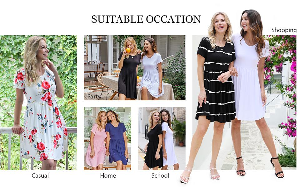 women loose dresses