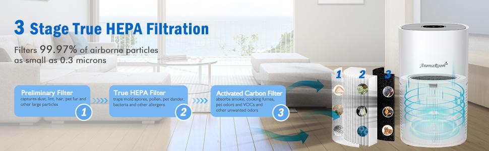 3 Stage Filtration System