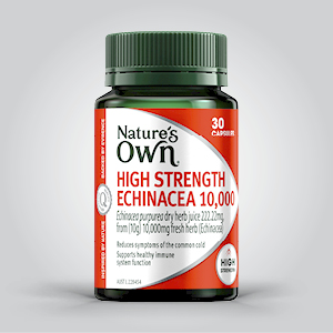 High Strength Echinacea; Healthy Immune System; immune system; Cold sore remedies;