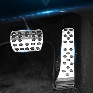 Beautost for Mercedes-Benz GLC GLC300 GLC-Coupe C-Class W205 Drill Free Aluminum Fuel Accelerate