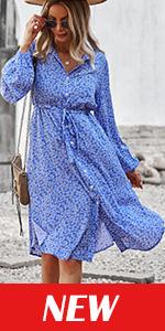 casual elegant flowy party dress for women