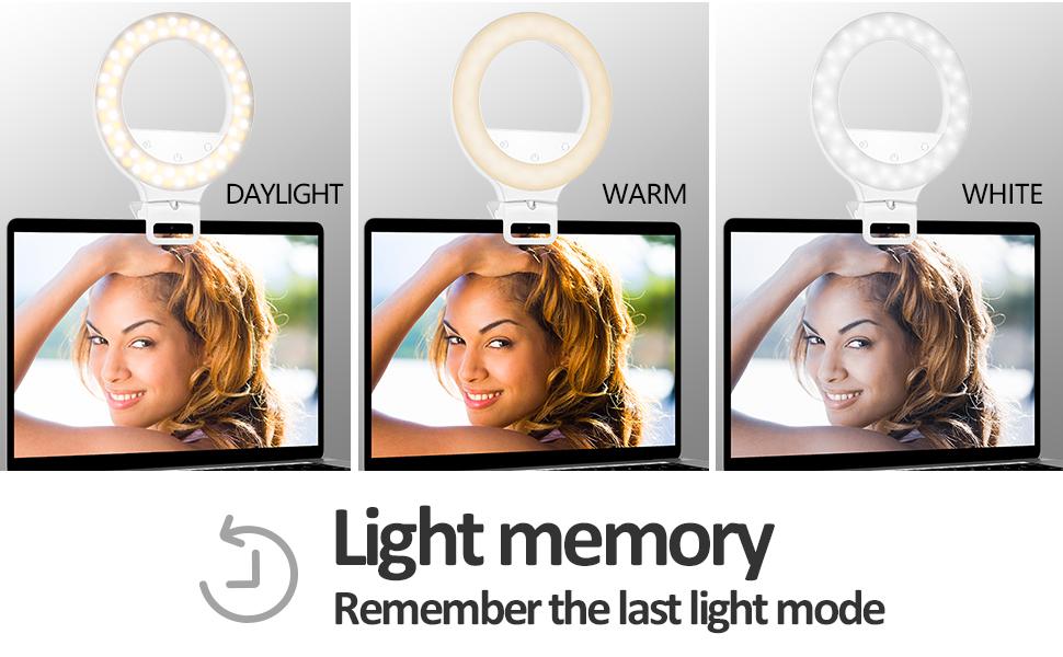 3 Light Mode Ring Light