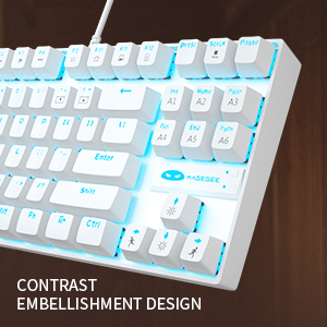 gaming keyboard and mouse set