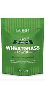 wheatgrass powder packet