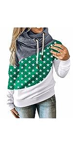 Women's Drawstring Fashion Pullover Hoodie