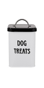 dog food countertop storage container