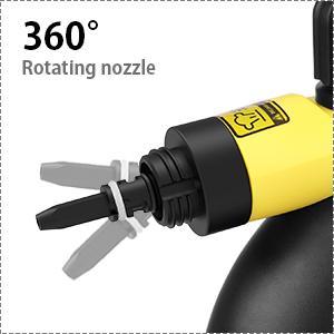 360° Rotating nozzle