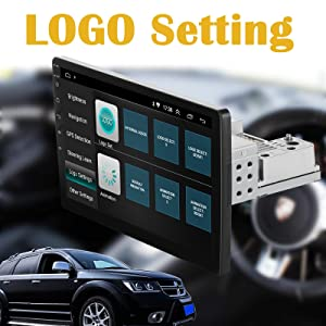 touch screen stereo for car single  din unit headunit