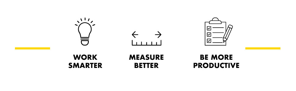 Work Smarter, Measure Better, Be More Productive