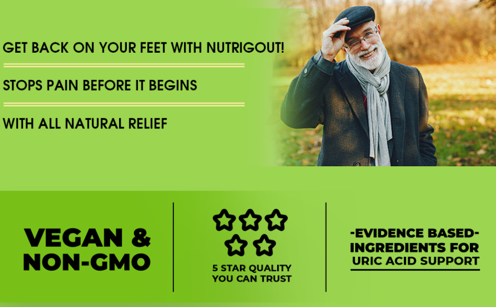 Get back on your feet with Nutrigout