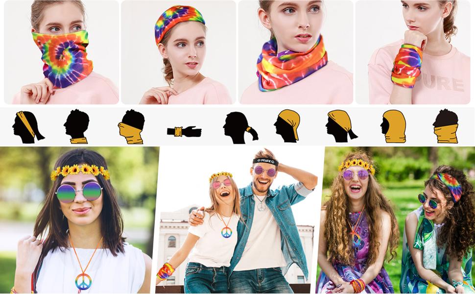 Hippie Costume Set - 4