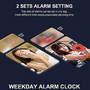 2 set alarm