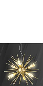 LED Modern Sputnik Chandeliers