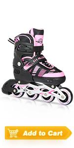 girls adjustable roller skate