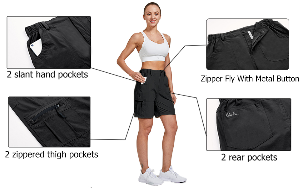 hiking shorts with pockets
