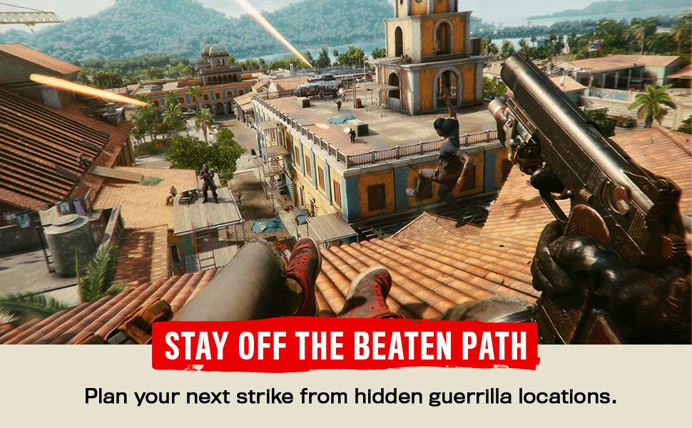Plan your next strike from hidden guerrilla locations