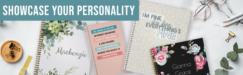 showcase your personality