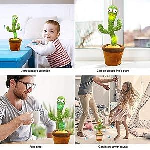 Dancing and Singing Cactus