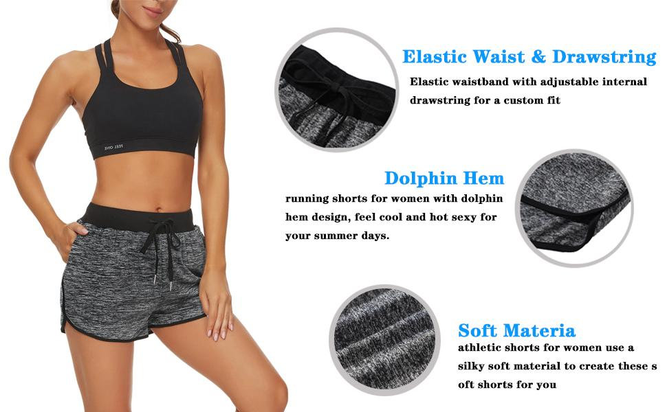 women's active shorts,jogging shorts women,running shorts women,shorts for women athletic,