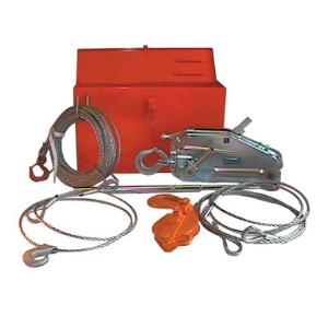 griphoist, wire rope hoist, rescue kit