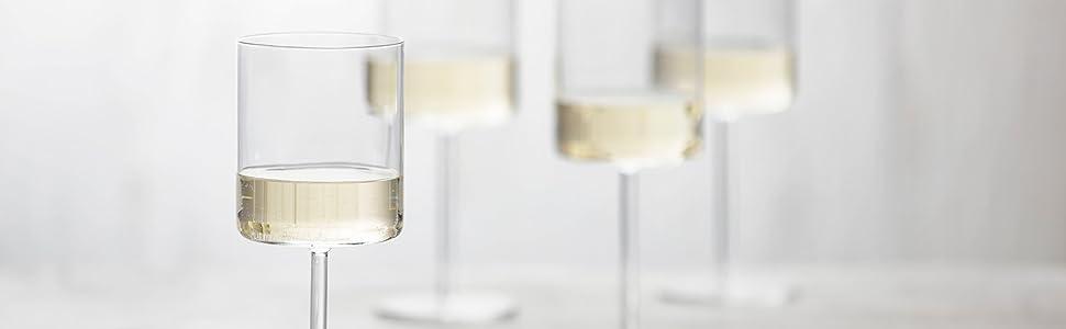 Modo Wine Glasses