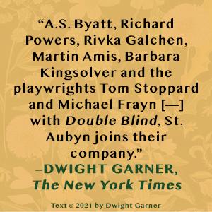 Double Blind by Edward St. Aubyn Dwight Garner quote
