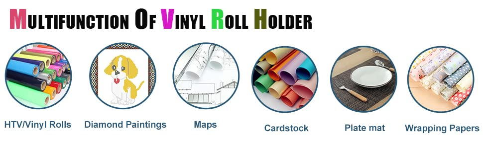 Multifunction of Freetmy Vinyl Roll Holder