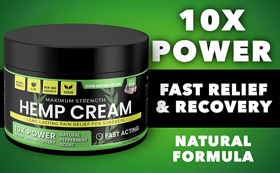 10X POWER - FAST RELIEF amp; RECOVERY - NATURAL FORMULA