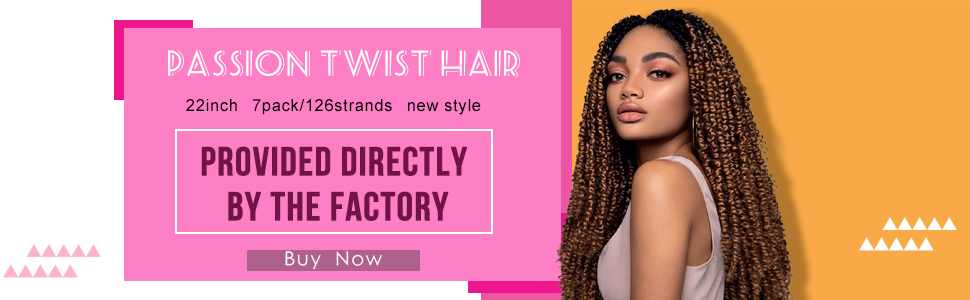 passion twist hair water wave crochet hair Freetress Water Wave