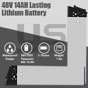 48V 14AH Lithium Battery