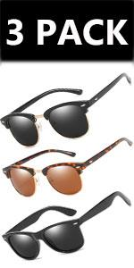 Sunglasses for men/3pack